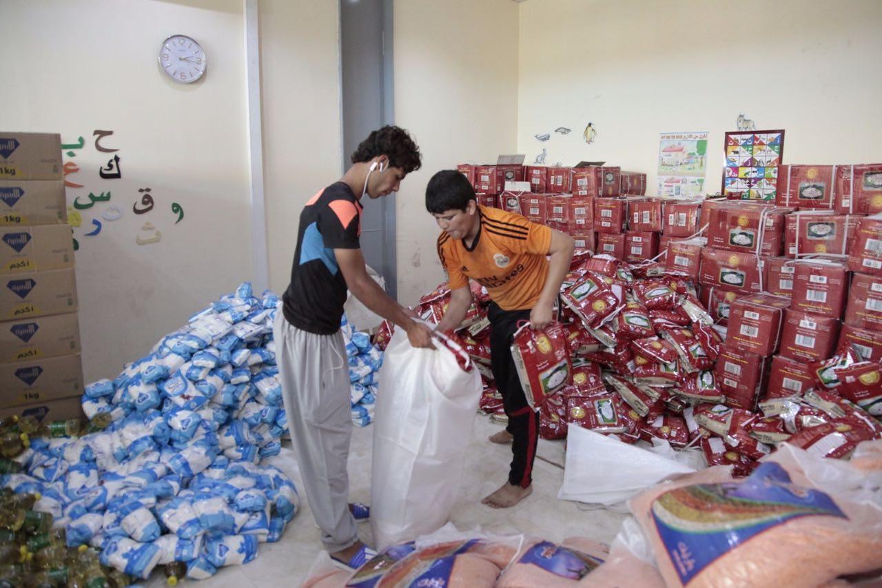 Ramadan Relief Fund 1437: Preparing for the Iraq Food Distribution