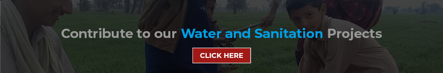 contribute to water and sanitation projects