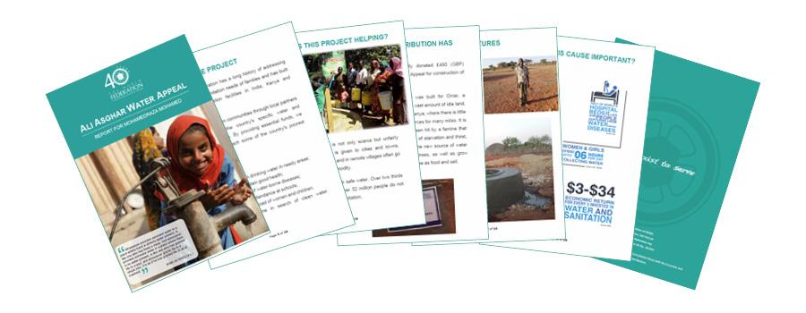 Water Feedback Report