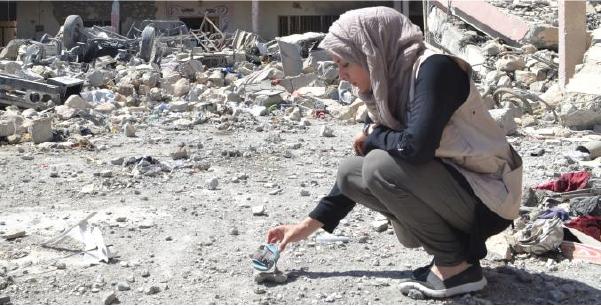 Madiha in Mosul, Iraq