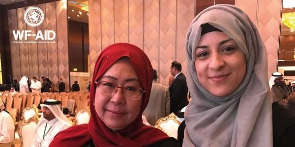 Madiha and Dr Jemilah